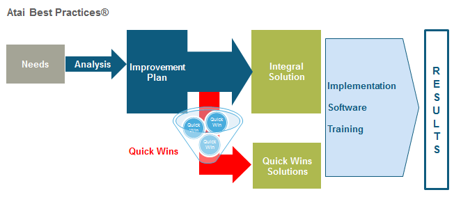 Description of Quick Wins services offered by Atai